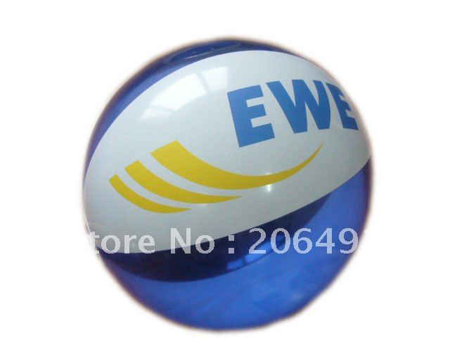 Free shipping 40cm inflatable beach ball 6 panels ball wholsales 10pcs/lot(China (Mainland))