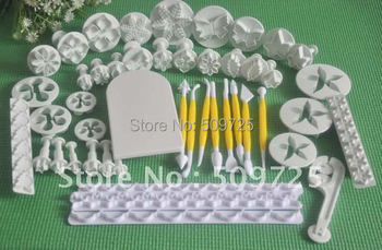 16 Sets Sugarcraft Cake Decorating Fondant Icing Plunger Cutter Tool Frill Cutter 22#