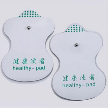 20 Pcs/10 Pairs White Electrode Pads For Tens Acupuncture Digital Therapy Machine Massager Tools Factory Price(China (Mainland))