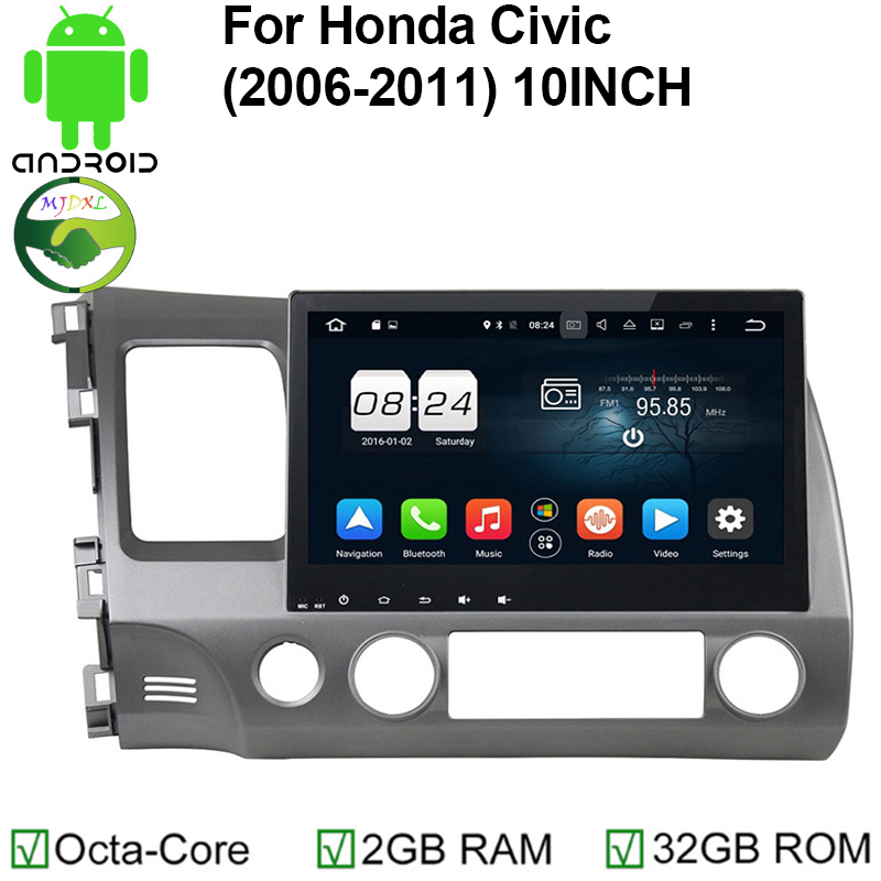 Aliexpress Com Buy Mekede 1024 600 10 Android 7 1 Car Dvd Player For Mazda 6 2008 2009 2010: Popular Honda Civic Navigation System-Buy Cheap Honda Civic Navigation System Lots From China