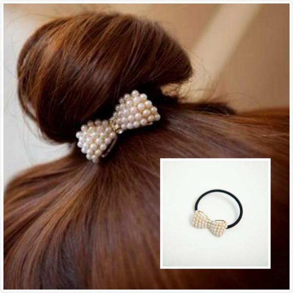 2016 cool hair bows wlastic bands for hair women headband ties ornaments korean hairpins hair accessories lovely headbands(China (Mainland))