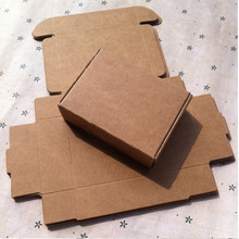 Newly 3*3*2cm Aircraft Cardboard Pack Boxes 20Pcs/ Lot Smart Little Sized Craftwork Gift, Fastener, Ear Rings Kraft Paper Boxes(China (Mainland))