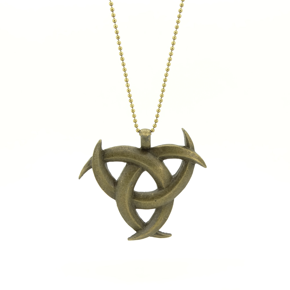 Hot Sale! Wholesale High Quality Retro Jewelry, Customized Length Vintage Necklace Punk Style Viking Celtic Knot Pendant(China (Mainland))