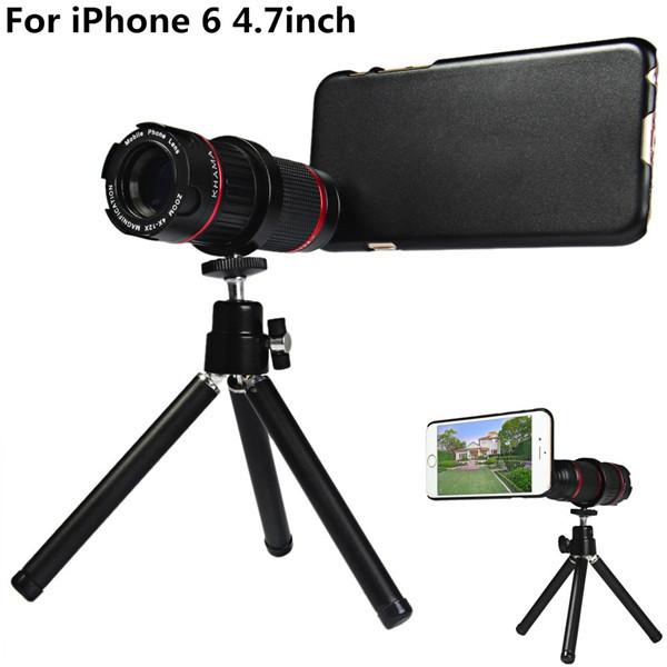 Объектив для мобильных телефонов KHAMA 4/12 X iPhone 6 U129555301 4 to 12X Telescope Lens for iPhone 6 объектив для мобильных телефонов 30 3 1 iphone 4 5 samsung s4 s5 hbtehgret