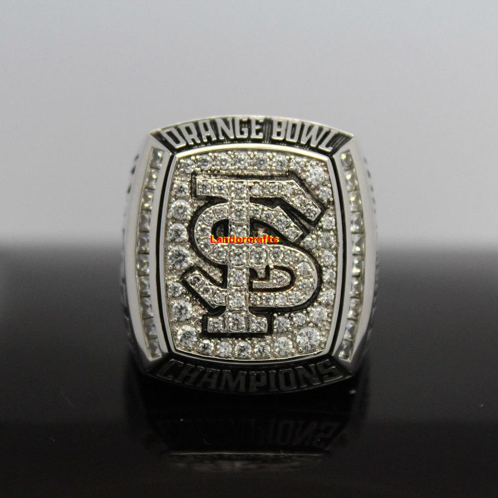 2012 Florida State Seminoles Orange Bowl ncaa college football National Championship Rings(China (Mainland))