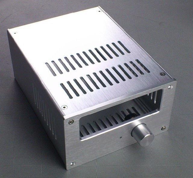 Haoli Full Aluminum Enclosure / mini AMP case/power amplifier box/ chassis(China (Mainland))