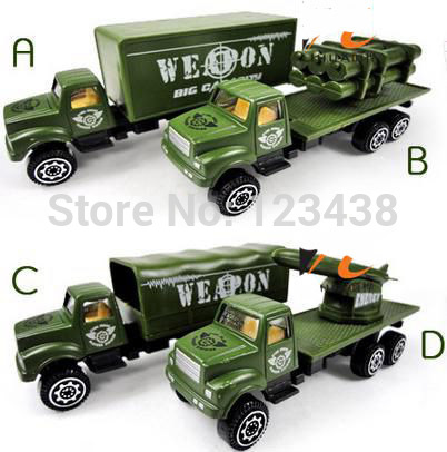 Mini Plastic Diecasts & Toy Vehicles Military Weapons Missile Green Models(China (Mainland))