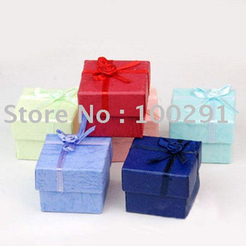 4x4x3cm Jewelry Gift Box Fit Necklace/Bracelet/Pendant/Watch/Ring/Earring(China (Mainland))