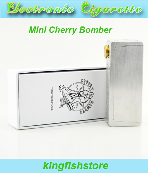 Mini Cherry Bomber Box Mod E cigarette E cig mechanical Mod fit 510 thread 18650 battery for RBA RDA<br><br>Aliexpress