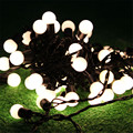 5M 50pcs Ball Fairy String Lights Outdoor Christmas Garland String Globe Ball Wedding String Light Garland
