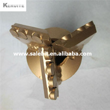 133 mm 3 wings pdc drag drill bit(China (Mainland))