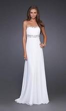 white strapless prom dresses - Dress Yp