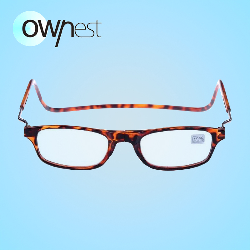 Magnetic Reading Glasses With Diopter +1.0 +1.5 +2.0 +2.5 +3.0 +3.5 +4.0 Men Women Spectacles Old People 3 colors(China (Mainland))