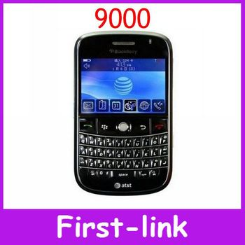 Unlocked Original Blackberry Bold 9000 cell phone English keyboard 2MP camera 2.4inch WIFI GPS 3G network Free shipping in stock