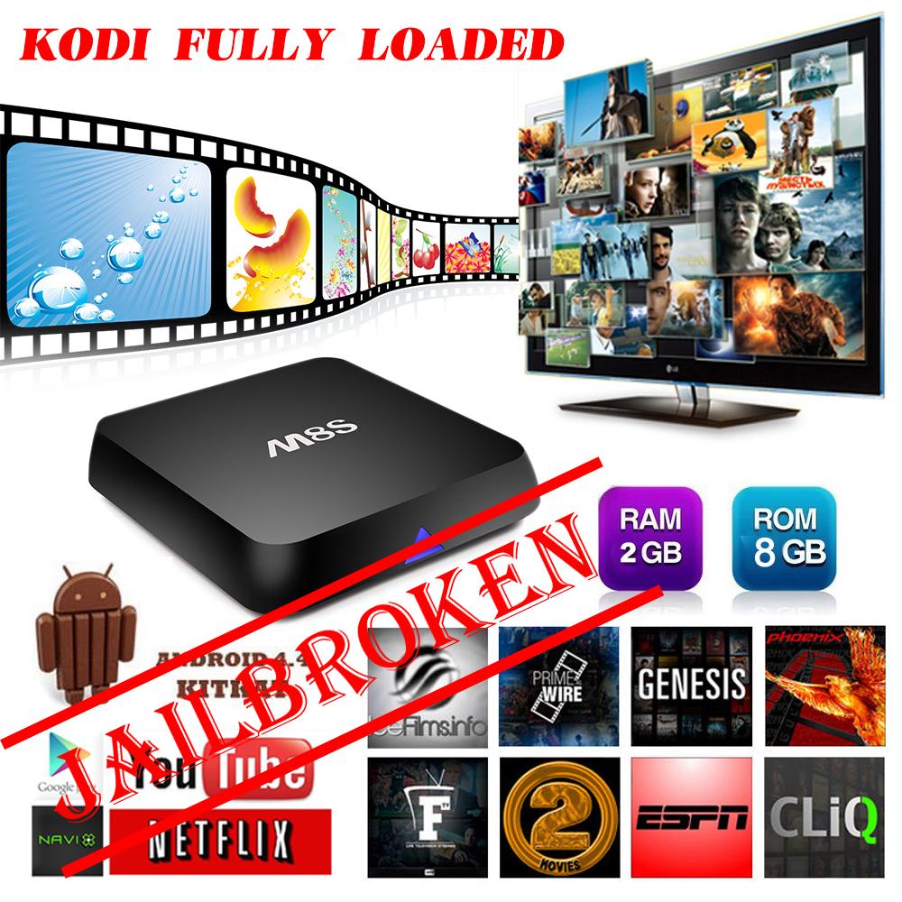 Best M8S Android Smart JAILBROKEN TV Box Amlogic S812 Chip 4K 2G/8G Dual Wifi Full HD Bluetooth HDMI XBMC Media Player TV Box(China (Mainland))