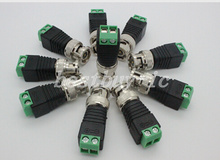10pcs/lot CCTV BNC accessories Professional male DC Power converter for CCTV security cameras AC14(China (Mainland))
