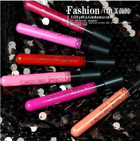 12 Colors Popular Women's Waterproof Beauty Makeup LipStick Velvet matte Colors Lip Pencil Lipstick Lip Gloss Lip Pen(China (Mainland))