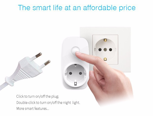 Broadlink SP3 Sp cc,EU socket,Smart wifi Power plug outlet,16A+timer,Wireless Control Home Automation Power Supply Plug