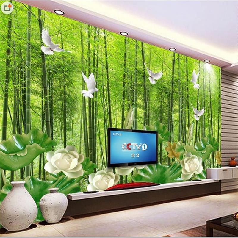Tapeten bambus kaufen billigtapeten bambus partien aus for Markise balkon mit living wall tapete
