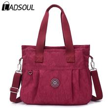 Ladsoul Women Messenger Bags High Quality Handbag Shoulder Bag for Women Waterproof Nylon Canvas Crossbody bolsas feminina 7894(China (Mainland))