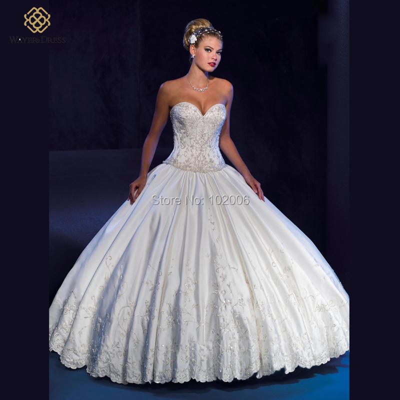 Buy burgundy ball gown wedding dresses for Detachable train wedding dresses