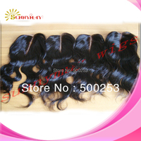 """Sunnymay Deep Middle Part Body Wave Brazilian Virgin Human Hair Top Lace Closure Accessories (3.5""""x4"""")"""