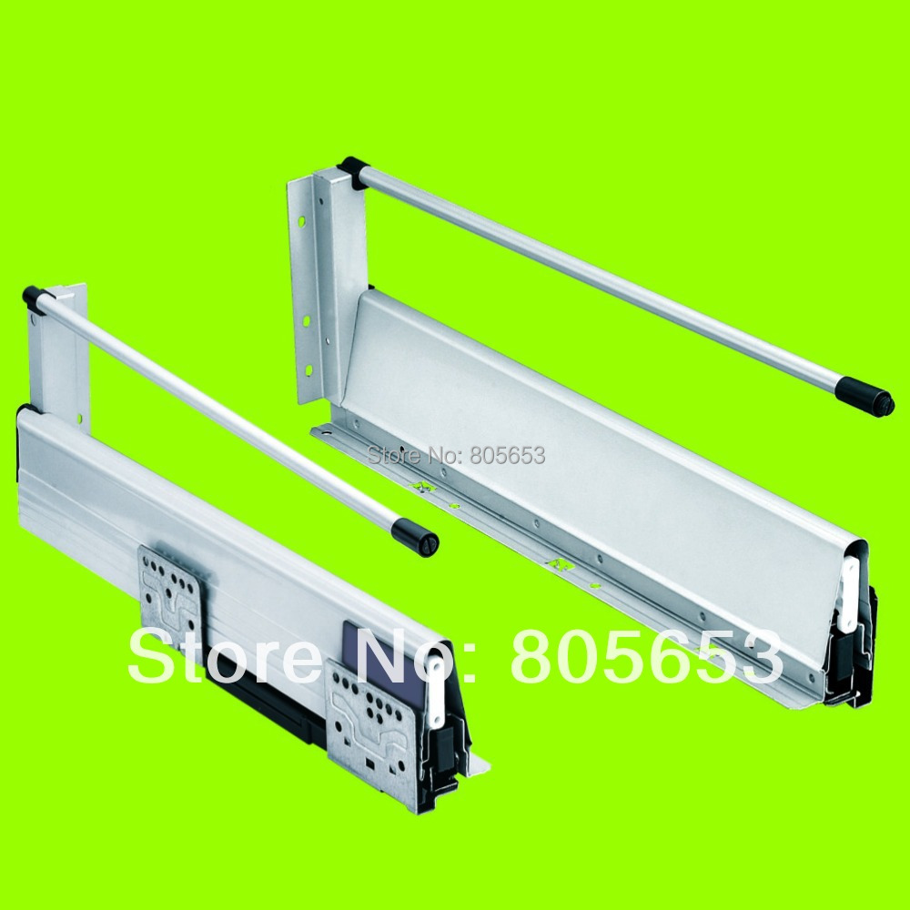high quality+ silent undermount soft close drawer slides 14 inch(DS8112-14)(China (Mainland))