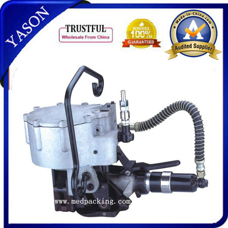 Pneumatic Combination Steel Metal Band Strapping Tool/ Steel Strip Banding Machine with single buckle(China (Mainland))