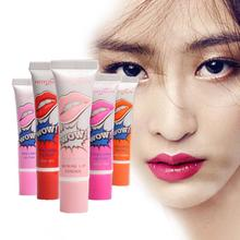 6 Colors Waterproof Magic Lip Gloss Peel Off Mask Tint Matte Long Lasting Lipstick(China (Mainland))