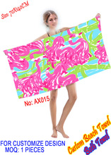 2015 New Products China Manufacturer Microfiber Beach Towels