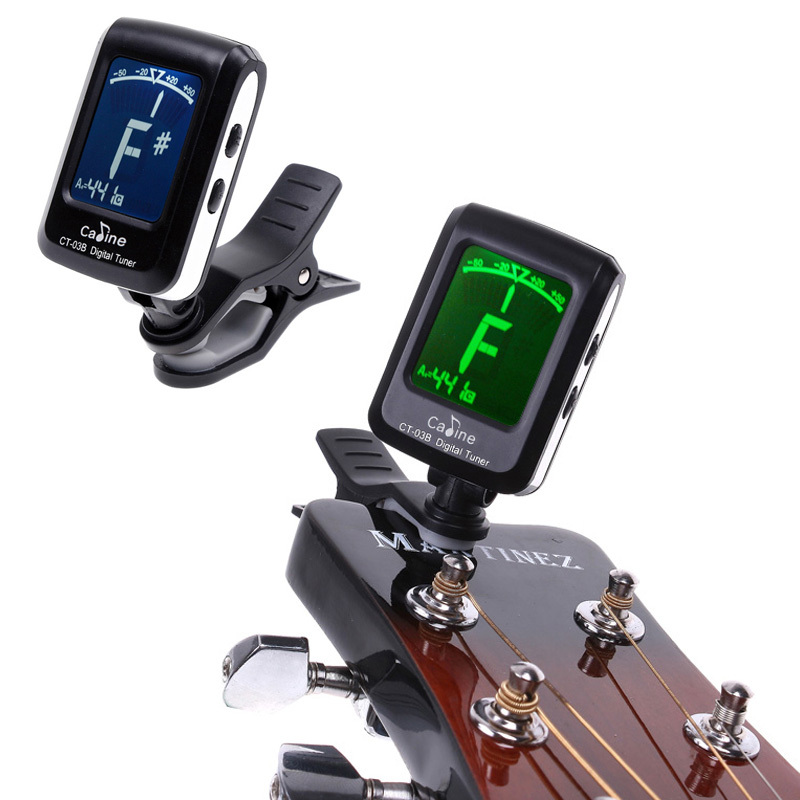 Аксессуары для гитары Caline LCD 360 Mini Clip-on Tuner комбо для гитары boss katana mini