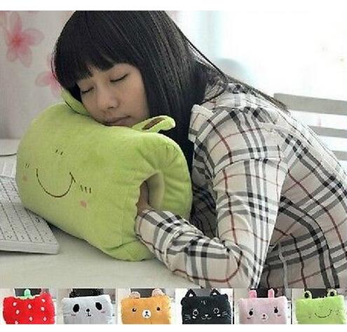 Cartoon Cute Plush Hand Warmer Soft Pillow Rilakkuma Cushion Stuffed animal(China (Mainland))