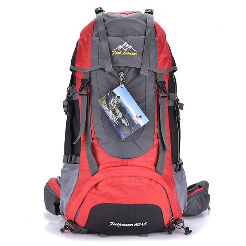 Здесь продается  New 60L Professional Climbing backpack Outdoor mountaineering sport bag creepper backpack travel bags mochila masculina  Камера и Сумки