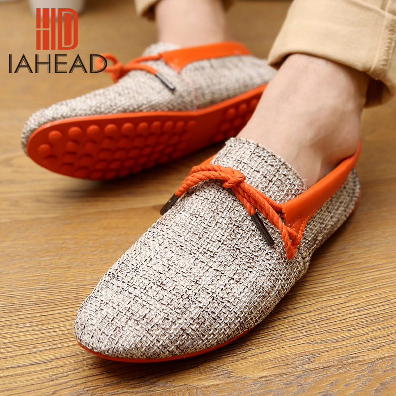 Men Shoes Spring Summer Breathable Fashion Weaving Men Casual Flat Home Use Shoes Lace-Up Loafers Comfortable Shoes Gd1SB32(China (Mainland))