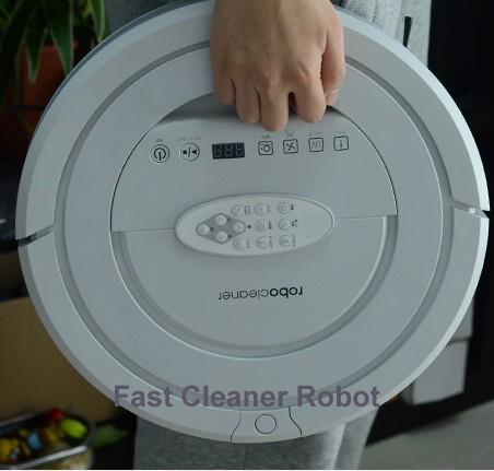 (Бесплатный России) робот пылесос для дома, две боковые щетки,LED экран.с тон,HEPA фильтр,расписание,Соник стены