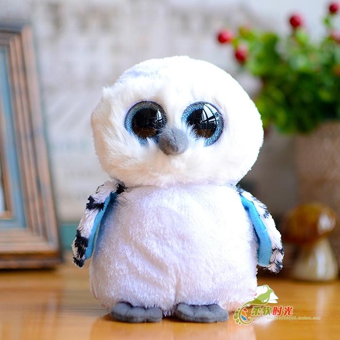 Cute baby white owl - photo#14