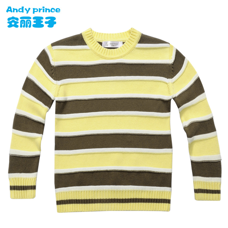 2014 spring autumn 100% cotton boy sweater basic shirt child sweater children's clothing pullover(China (Mainland))