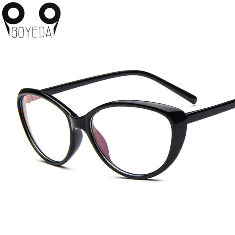 boyeda new womens fashion cat eye optical glasses frame vintage women reading eyewear eyeglasses retro myopia