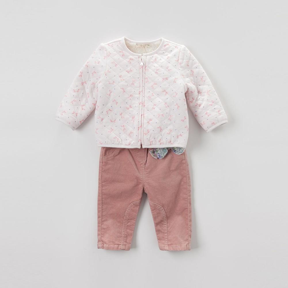 Скидки на DB4273-G davebella осень мягкий топ базовая куртка для детей пальто детская одежда для девочек