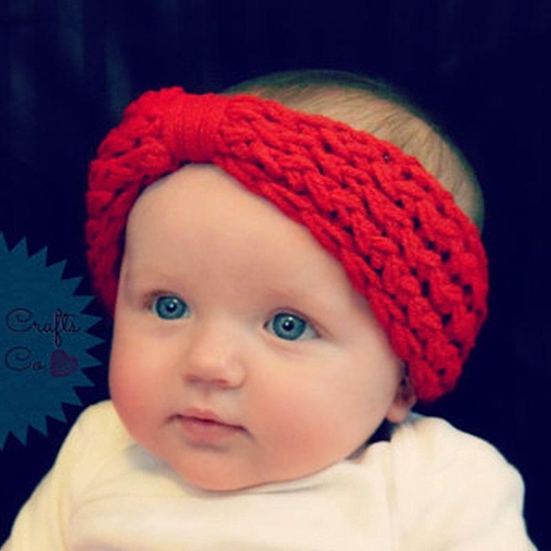 Winter baby hair accessories wholesale Bohemian headbands earmuffs knitting wool caps(China (Mainland))