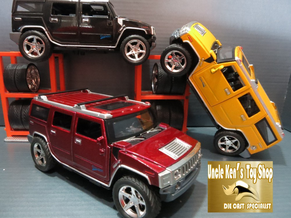 1:24 Humvee Diecast Miniature Hummer Model, 18CM Length Cars, Boys Gift Toys With Pull Back Function/Music/Light/Openable Door(China (Mainland))