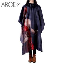 Fashion Hair Cut Hairdresser Barbers Hairdressing Cape Gown Cloth Haircutting Hairdresser Salon Apron Nylon Cloth Styling Tool(China (Mainland))