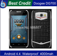 leather case+ film)gift! DOOGEE DG700 TITANS 2 IP67 MTK6582 Quad Core Mobile Phone Android 5.0 3G OTG Waterproof 4000mAh stock/E