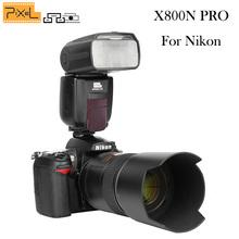 Buy Pixel X800N PRO Flash Speedlite 1/8000s ITTL HSS wireless GN60 Nikon d5300 d7100 d3100 d90 d7200 d5200 d3200 d3300 d3000 for $187.15 in AliExpress store