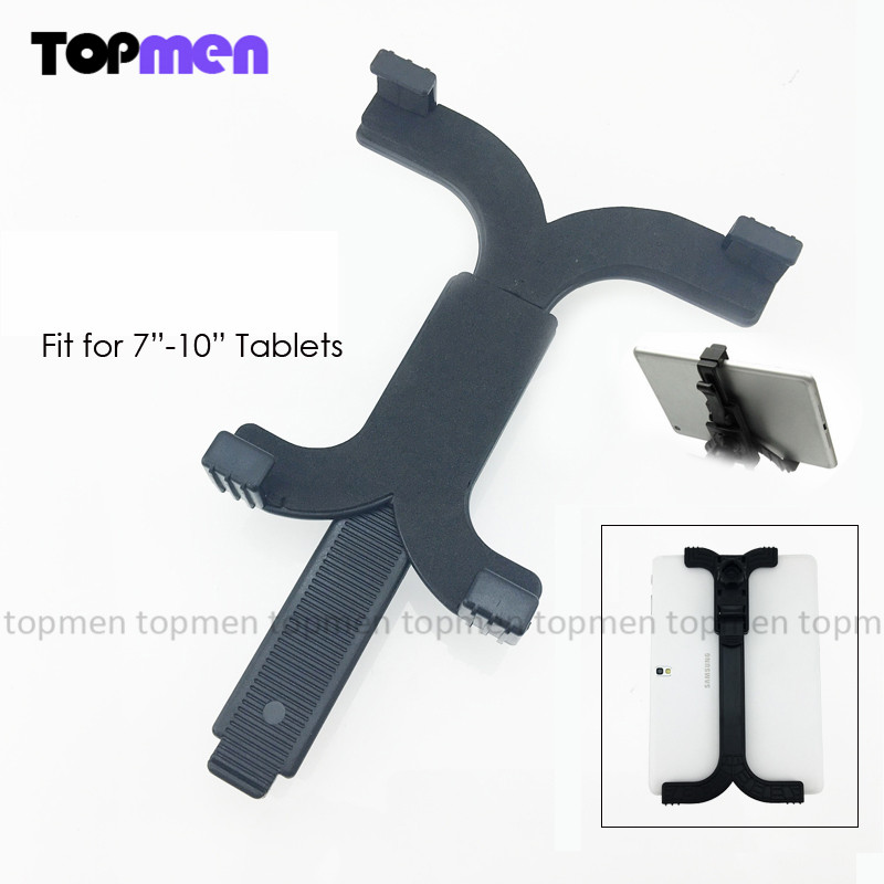Universal Tripod Mount Holder Bracket PC Stands For 7~10.1 inch Tablet For iPad 2 3 4 Mini For Samsung Tablet GPS Holder Stand(China (Mainland))