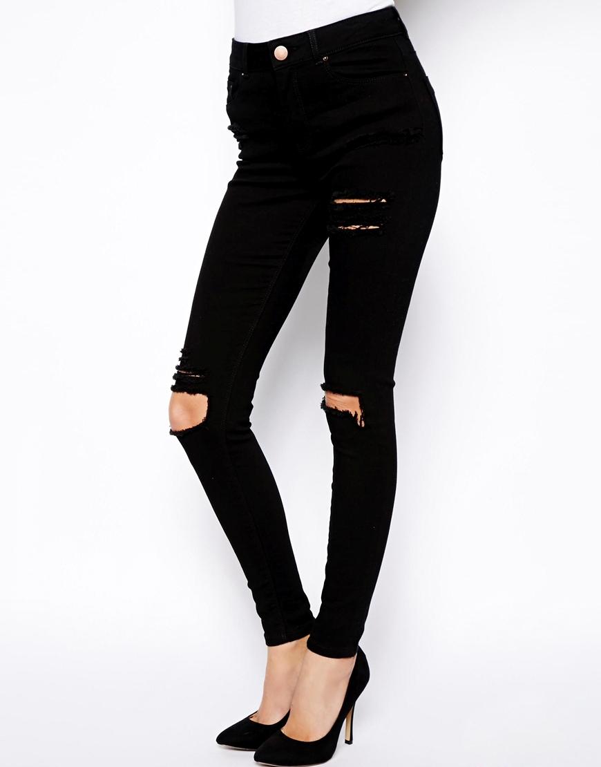 Cheap Black Skinny Jeans Womens - Xtellar Jeans