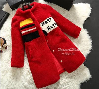 Здесь можно купить  Top Selling Spain  Wool  Fur  Coat  In the long section  Woman
