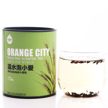 Free shipping 108g canned Barley tea Orange City Store herbal tea lady tea oriental coffee good