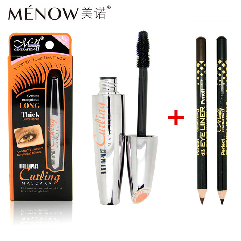 3pcs/set M.n Brand Waterproof Mascara Volume Express 3D Makeup Black &Brown Eye Liner Pencil Make Set - Kupa Charm&Beauty Store store