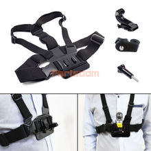 Adjustable Chest Mount Harness Belt Strap Accessories Kit For Action Cam Sports Camcorder Accessories